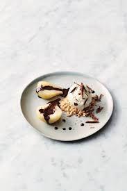 Boozy pears & chocolate   Jamie Oliver