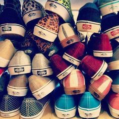 Pile of Vans..... Can I have them all?