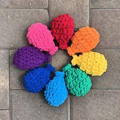 Crochet Water Balloons ~ free pattern ᛡ