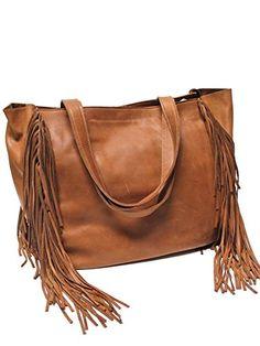 McFadin Hampton Fringe Large Women's Tote Bag