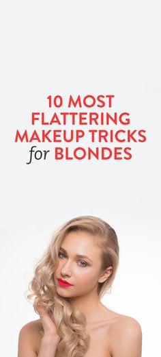 10 Most Flattering Makeup Tricks for Blondes