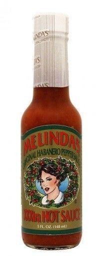 Melinda's Original XXXXtra Hot Habanero Hot Sauce 5 oz Bottle