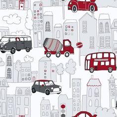 Arthouse Motor Mania Cars Buses Luxury Childrens Kids Wallpaper 533501