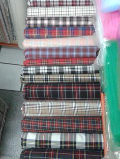 Telas escocesas Fashion, Scrappy Quilts, Store, Fabrics, Tejidos, Clothing, Moda, Fashion Styles
