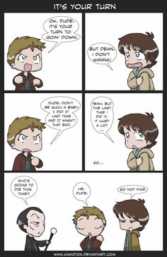 It's your turn (redone) by KamiDiox.deviantart.com on @deviantART