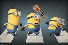 Minions - Abbey Road - Official Poster. Official Merchandise. Size: 61cm x 91.5cm. FREE SHIPPING