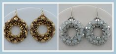 Kelly from Off the Beaded Path, in Forest City, North Carolina shows you how make earrings that matches the previous bracelet and necklace projects. We have ...
