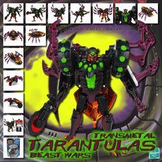 Transformers Universe - Beast Wars Transmetal Tarantulas
