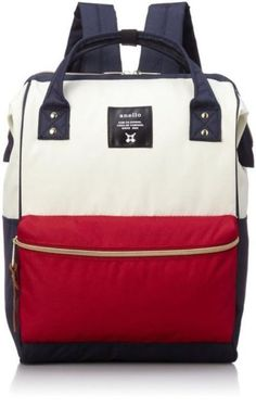 621a1534b8c2 Anello Polyester Canvas Backpacks (White and Red). Outing fablic    Polyester Canvas. Weight   Made in China、Made in Philippines(Japan Design ).