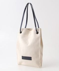 Harriss / ハリス トートバッグ | 1726GTキャンバス×レザー2WAYショルダーバッグ Shopping Bag Design, Branded Bags, Reusable Bags, Handmade Bags, Canvas Tote Bags, Fashion Bags, Leather Handbags, Textiles, Style