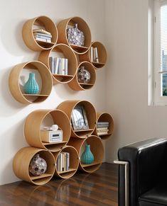 Wall shelves | Storage-Shelving | Flexi Tube Nature | Kißkalt. Check it out on Architonic
