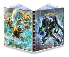Ultra Pro Pokemon XY 10 Full View Portfolio: portfolio featuring Zygarde-EX art from Pokemon XY Fates Collide expansion. Holds 90 collectible cards single-loaded or 180 double-loaded. Each Portfolio includes 10 high-clarity, archival-safe pages. Mega Pokemon, Cool Pokemon, Pokemon Games, Papercraft Pokemon, Pokemon Trading Card, Collectible Cards, Hero Arts, Legos, Card Games