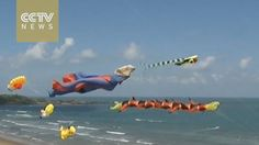 Superman, Pikachu and Harry Potter star in Taiwan's kite festival