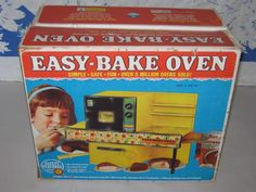 The easy bake oven... it was anything BUT easy to bake anything in this contraption! haha
