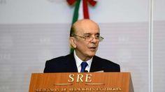 José Serra, ministro das Relações Exteriores, falou sobre a Olimpíada do Rio