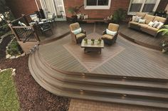 View our Deck and Railing photo gallery. Get outdoor living inspiration with our variety of Deck photos. Deck designs and plans. Deck Design Plans, Patio Deck Designs, Patio Design, Patio Ideas, Backyard Ideas, Toronto, Deck Builders, Outdoor Living, Outdoor Decor