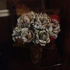 Money bouquet for birthdays or graduations!