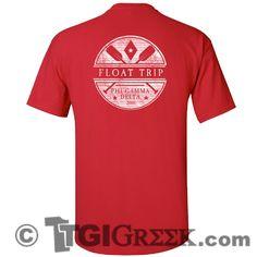 Phi Gamma Delta - TGI Greek - Comfort Colors - Greek T-shirts - #TgiGreek #PhiGammaDelta #Fiji #floattrip