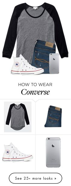 """""""Bus Forgot Me AGAIN"""" by twaayy on Polyvore featuring Wilfred, Abercrombie & Fitch and Converse"""