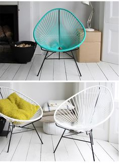 Love these Acapulco chairs