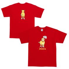 Martha Speaks Alpha Dog Red Adult T-Shirt from PBS Kids Shop