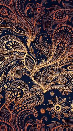 Fashion wallpaper iphone beauty for 2019 Moda Wallpaper, Paisley Wallpaper, Black Wallpaper Iphone, Screen Wallpaper, Pattern Wallpaper, Wallpaper Backgrounds, Travel Wallpaper, Wallpaper Art, Wallpaper Ideas