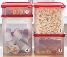 Modular Mate Rectangles sized fro 1 to 4.  carlapratt | Current Tupperware Specials