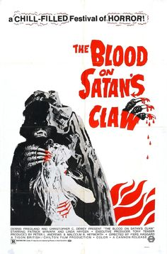 THE BLOOD ON SATANS CLAW Movie POSTER