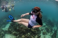 Underwater chilling.