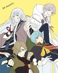 Touken Ranbu, Katana, Illusion, Nikkari Aoe, Manga, Akita, Anime Love, Anime Art, Character Design