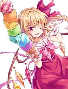 """くれ〜ぷ@1日目東シ-37aさんのツイート: """"必殺7段盛り!!!!… """" Anime Girl Neko, Moe Anime, Anime Art Girl, Anime Chibi, Manga Anime, Anime Girls, Anime Figures, Anime Characters, Touhou Anime"""