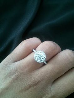 1.5 ct center, ring size 5