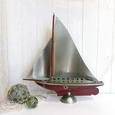 Art Deco Chrome Yacht