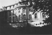 The villa in which the Wannsee Conference took place in Berlin