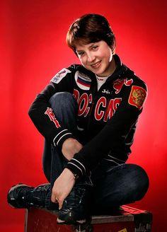 Irina Slutskaya, figure skater - Russian Personalities