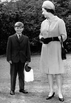 queen Elizabeth ll & Prince Andrew Prince Andrew, Prince Phillip, Prince Charles, Hm The Queen, Her Majesty The Queen, Queen Mary, Queen Elizabeth Ii, The Queens Children, Princess Eugenie And Beatrice