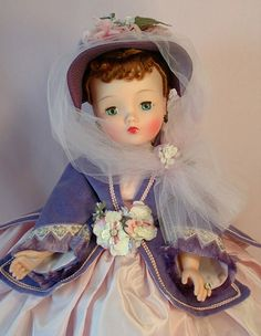 lovely cissy doll in lavender ~ madame alexander