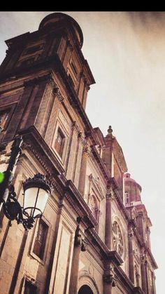Cathedral, Las Palmas de Gran Canaria Canario, Capital City, Louvre, Holidays, Building, Summer, Travel, Las Palmas, Canary Islands