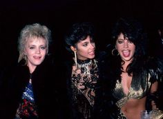 Brenda Bennett, Vanity and Apollonia Kotero at the Academy Awards, 1985 American Music Awards, Beautiful One, Beautiful People, Apollonia Kotero, Denise Matthews, Vanity 6, Prince Images, Sheila E, Prince Purple Rain