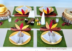 Simple Simon and Company: Thanksgiving Tablescape