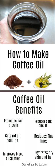Definitely worth a try! olive oil, coconut oil, or avocado oil cup ground coffee via Definitely worth a try! olive oil, coconut oil, or avocado oil cup ground coffee via Organic Skin Care, Natural Skin Care, Natural Health, Belleza Diy, Tips Belleza, Beauty Care, Diy Beauty, Beauty Tips, How To Make Coffee