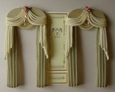 The curtains measure 11,5cm wide x 21,5 cm height or your measurements and color…