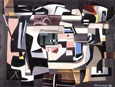 Ad Reinhardt, Collage, 1939