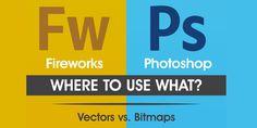 Fireworks v/s Photoshop Photoshop Software, Adobe Photoshop, Adobe Fireworks, Data Visualization, Infographics, Design, Infographic, Info Graphics