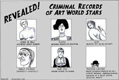 Artoon Peter Duggan artists' criminal records