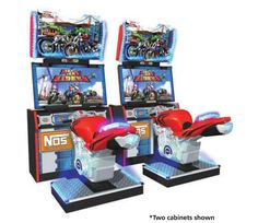 Dead Heat Riders Arcade Motorcycle Driving Game