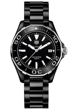 Sport  Tag Heur Ladies Aquaracer watch, $2,550, tagheuer.com.  Courtesy Brand