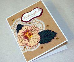 Kika's Designs : Violet in brown