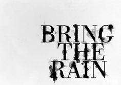 One of my favorite underutilize ways of using photoshop is to create beautiful text effects. Photoshop is such a powerful tool, and now with the capabilities I Love Rain, No Rain, Photoshop Tutorial, Free Photoshop, Typography Tutorial, Typography Design, Photoshop Text Effects, Thing 1, Photoshop Brushes