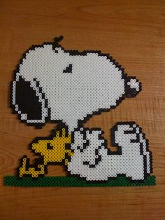 Snoopy y amigo descansando